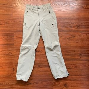 Patagonia cream Hiking Insulated Pants sz 4